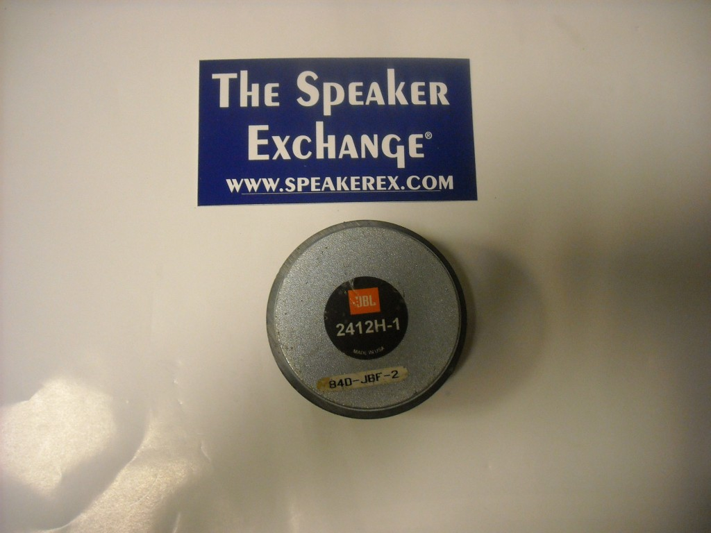 jbl 2412 driver, speaker exchange, speakerex