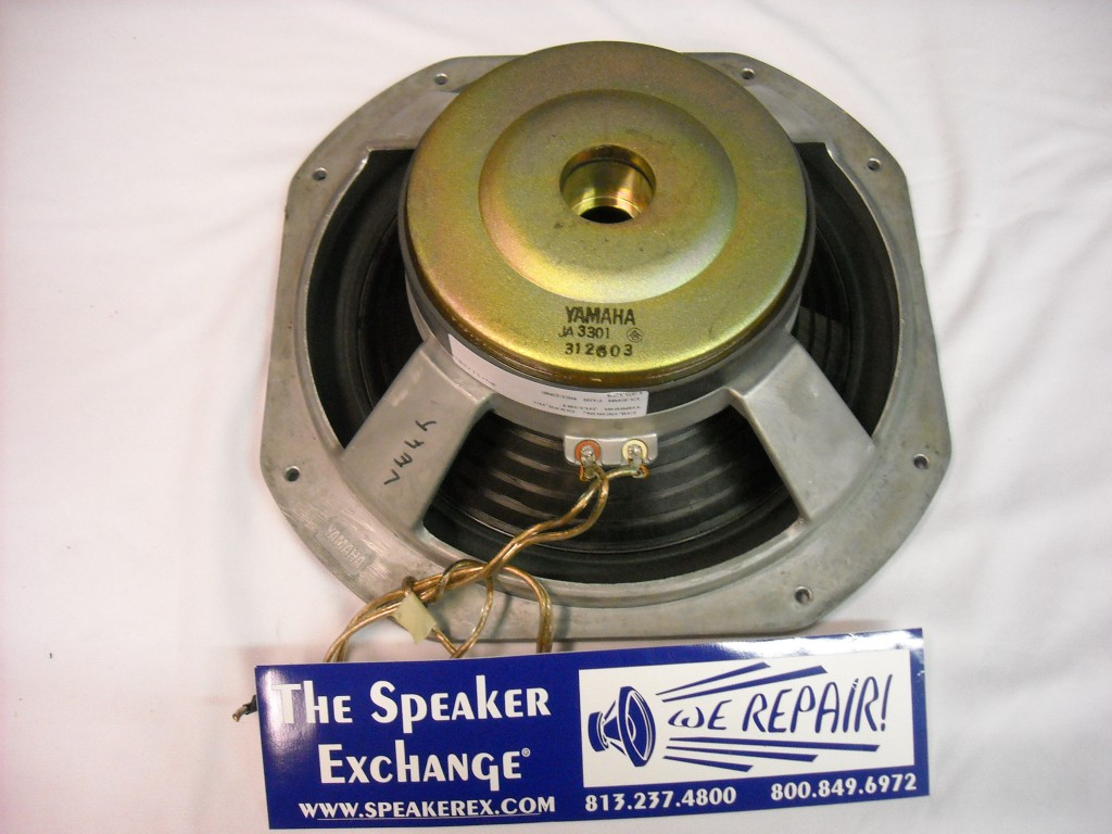 Yamaha JA3301 NS2000 Speaker Repair, The Speaker Exchange, Speakerex