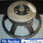 meyer sound ms12 recone, speaker exchange, speakerex
