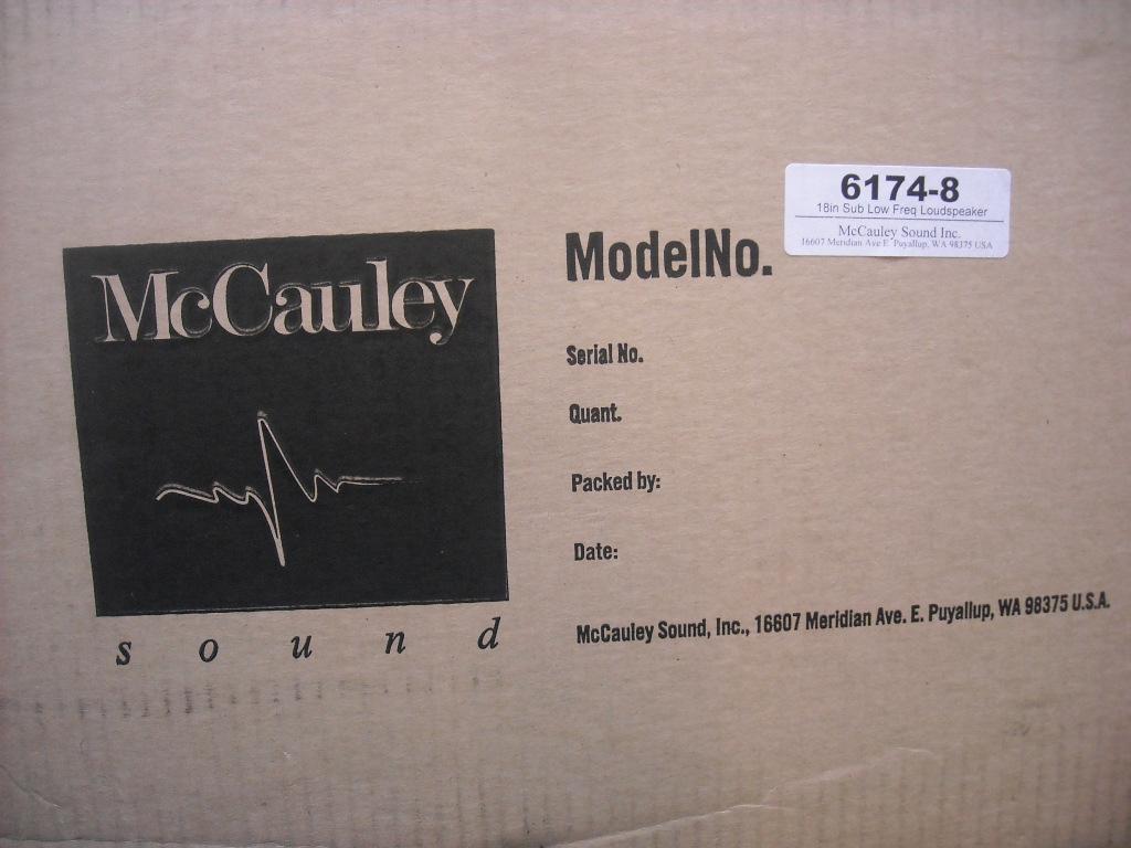 McCauley 6174 18