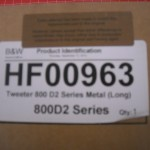 B&W 800D2 Tweeter HF00963