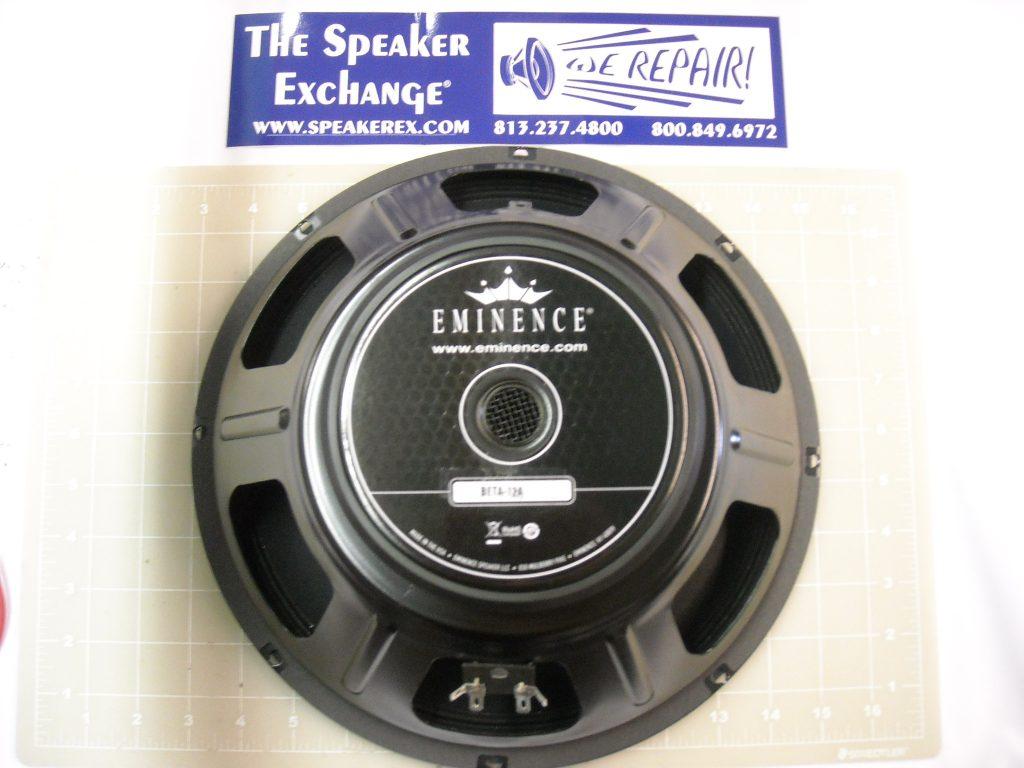 eminence beta 12a woofer speaker exchange. Black Bedroom Furniture Sets. Home Design Ideas