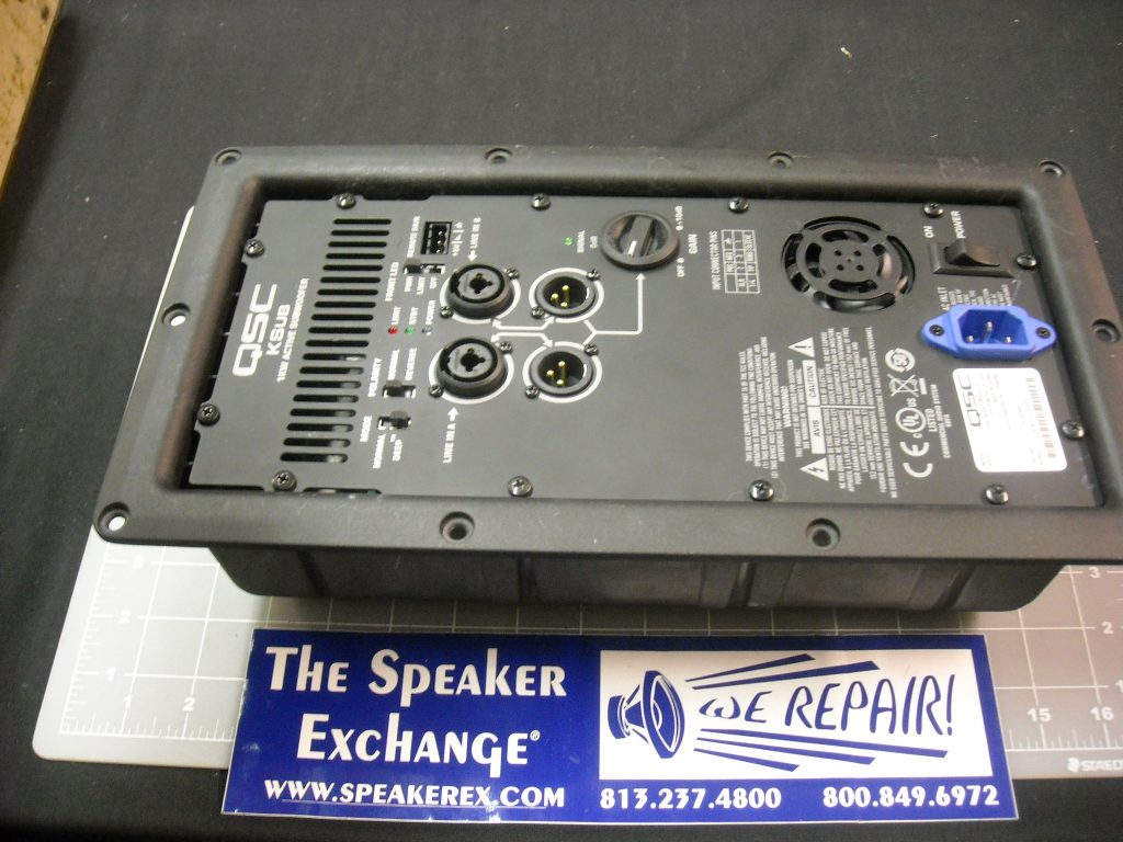 speaker repair april 2017