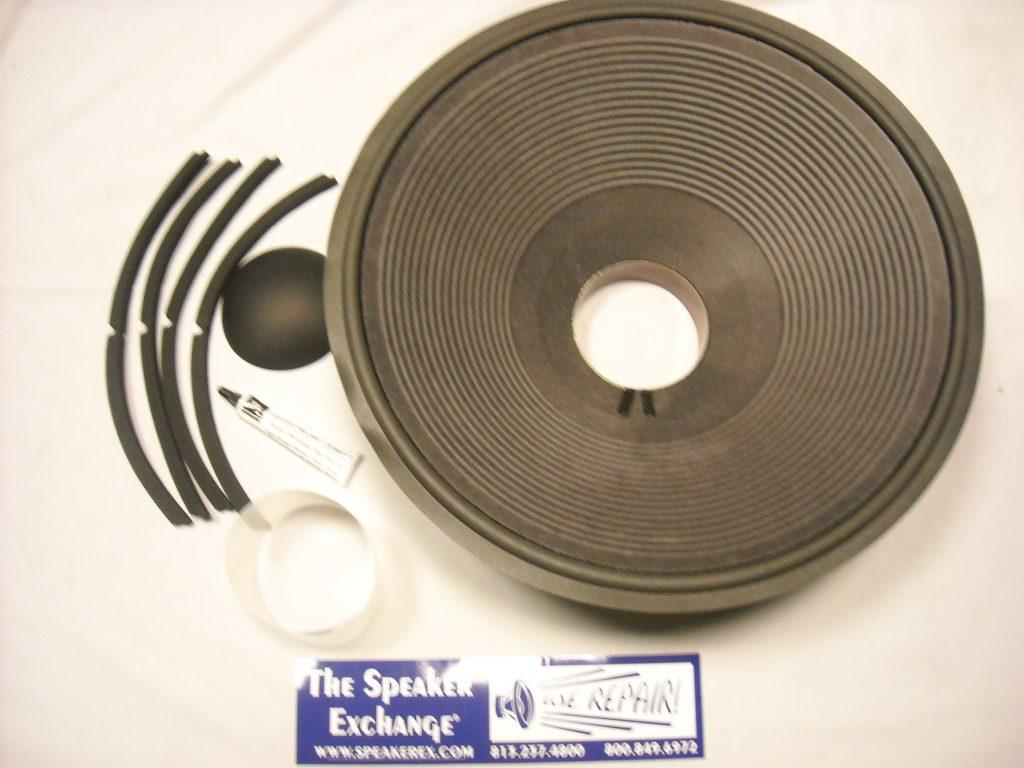 "18/"" JBL 2245H VOICE COIL SPEAKER REPAIR PARTS."
