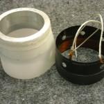 1) EV voice coil, centering fixture & shim