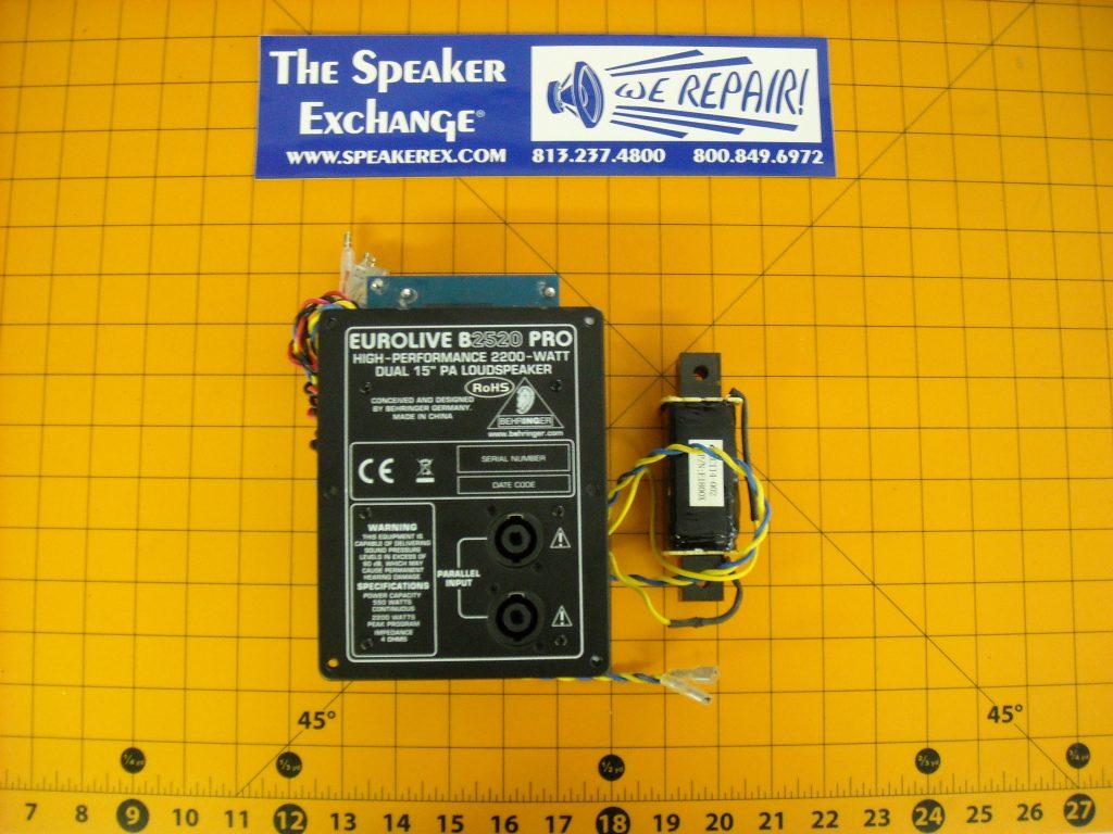 Behringer B2520 Pro Crossover Speaker Exchange Wiring Diagram Home