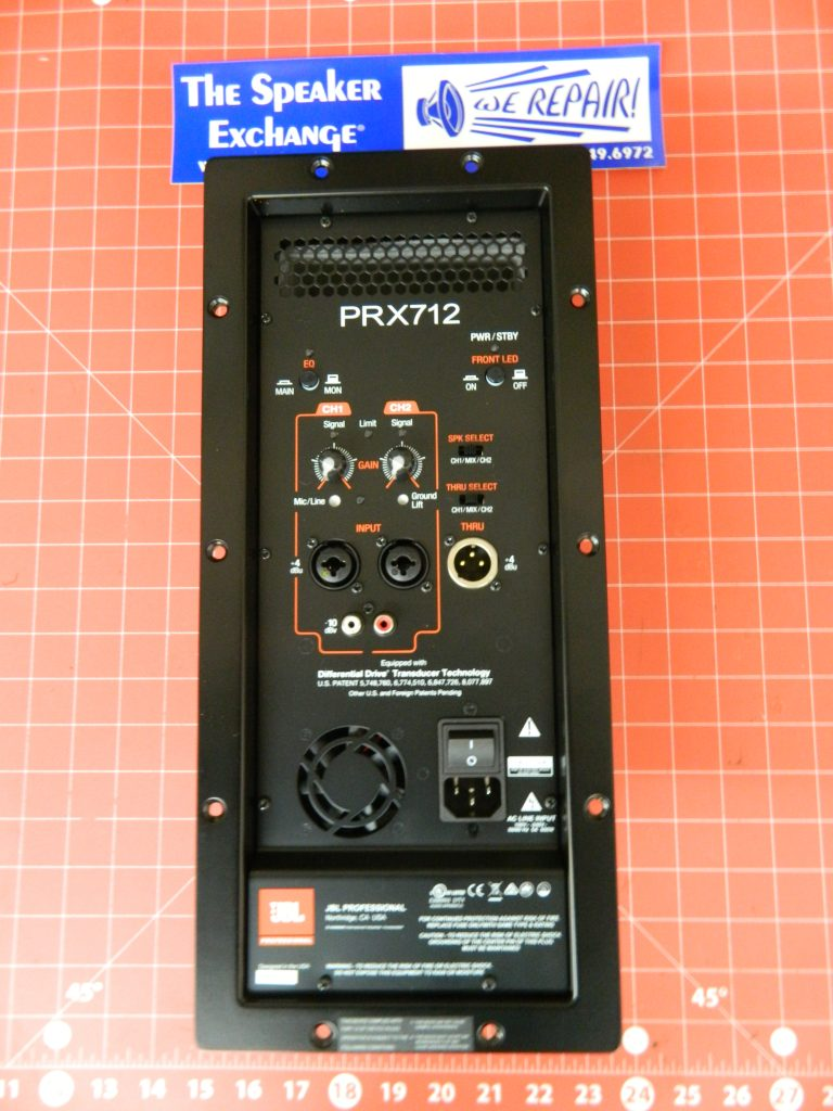 Jbl Prx712 Amplifier Assembly Jbl 5058665 Speaker Exchange