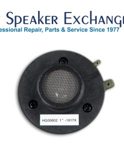 The Speaker Exchange - Speaker repair, replacement, recone