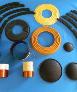 Dustcaps, Gaskets, Cones, Spiders, Voice Coils